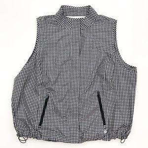 Talbots Gingham Lightweight Vest 3X